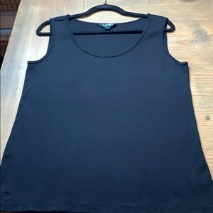 Ralph Lauren Ribbed tank top